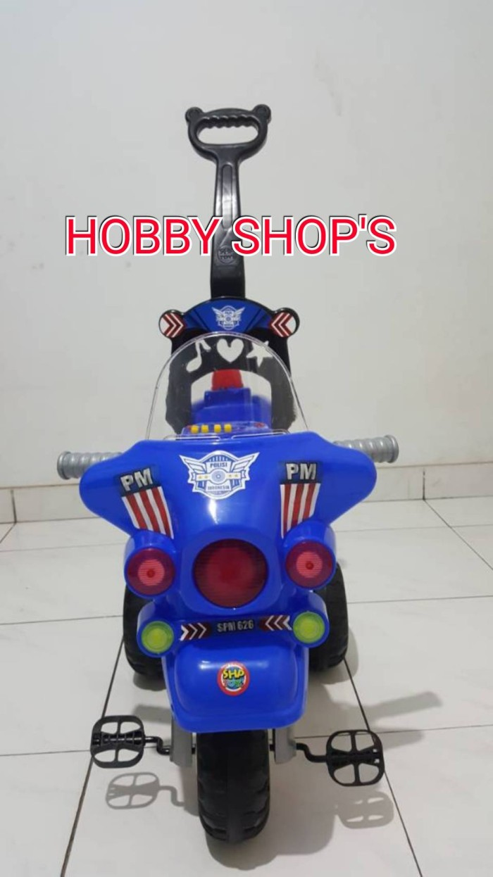 Jual SHP SPM 626 SEPEDA TRICYCLE POLISI RIDE ON CAR