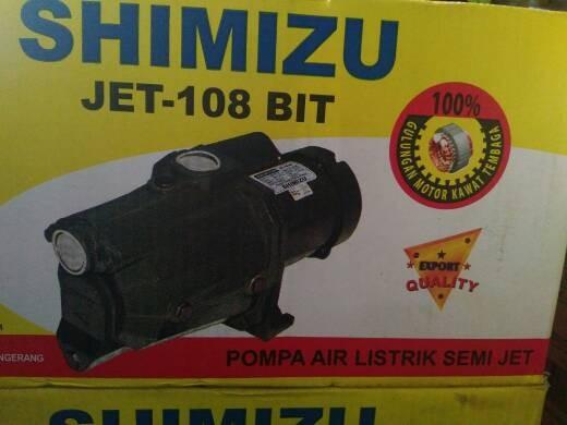 harga Pompa Air Shimizu Jet 108 Bit (semi Jet Pump) Tokopedia.com