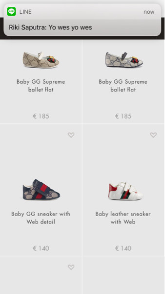 4bd64fcf010 Jual baby GG supreme ballet flat gucci - Pre Order HK/LHR/CDG ...