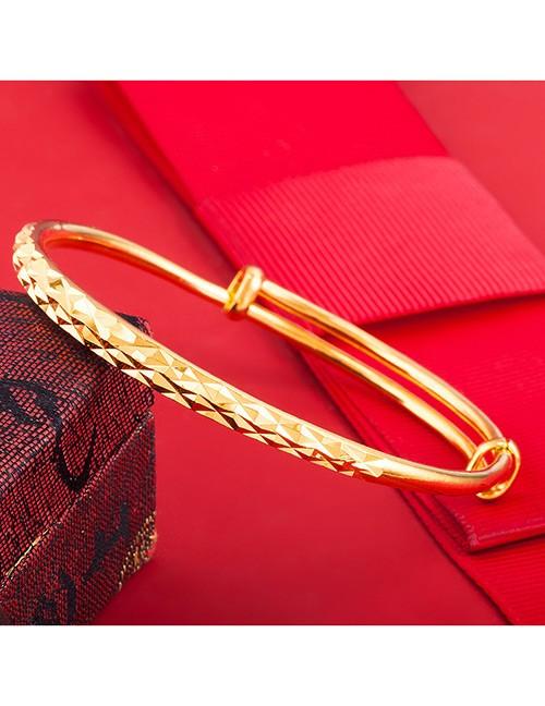 Jual KB93767 Gelang Yaxiya Simple Gold (Lapis Emas ...