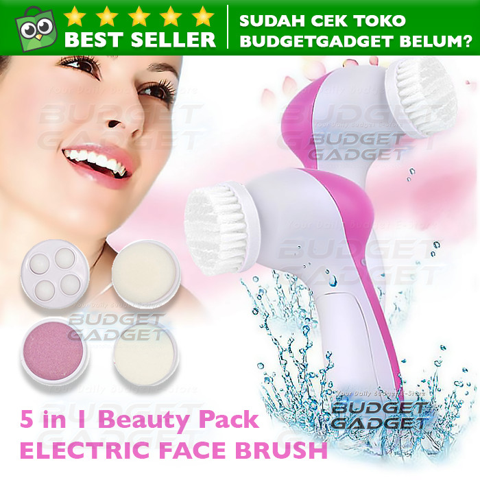 Pembersih Muka Multifunction Electric Facial Cleansing Brush 5 in 1