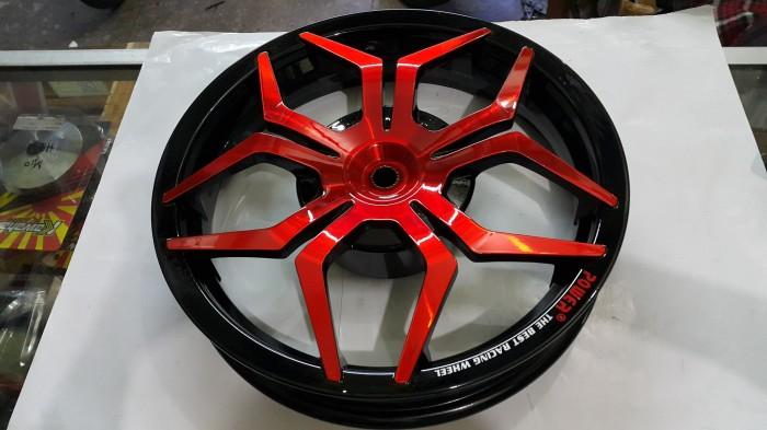 harga Velg racing power lebar vario beat scoopy spacy star merah hitam Tokopedia.com