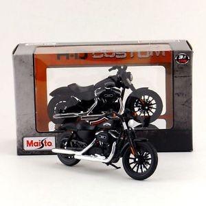 harga Maisto 1:18 motorcycle model/harley-davidson 2014 sportster iron 883/