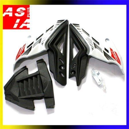 harga Tutup mesin variasi yamaha vixion putih aksesoris sepeda motor racing Tokopedia.com