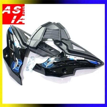 harga Tutup cover variasi sepeda motor mesin yamaha byson hitam list biru Tokopedia.com