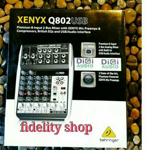 harga Mixer behringer xenyx q802 usb Tokopedia.com
