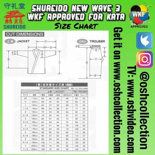 Jual Shureido New Wave 3 for Kata (Karate Gi) Size 00 - DKI Jakarta - OSH  Collection   Tokopedia