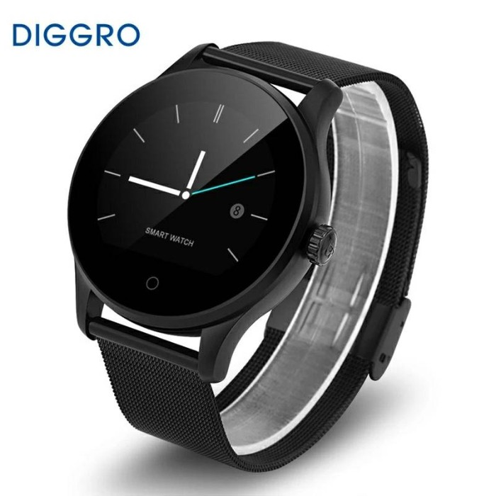 harga Excelvan k88h smart watch pedometer heart rate monitor call/sms Tokopedia.com