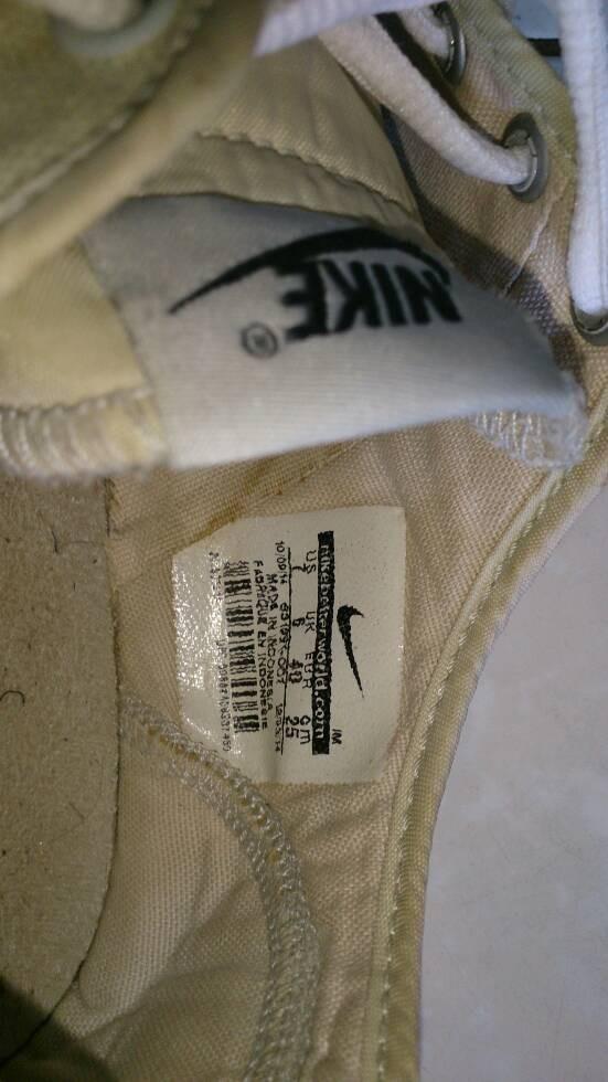 Jual terjual -- sepatu nike canvas (not puma fila saucony ... 3e1e7b9153