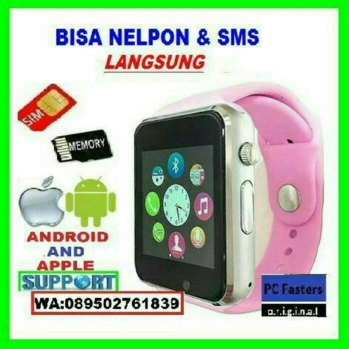 harga Jam tangan pintar smartwatch a1 / jual xiaomi samsung / lenovo iphone Tokopedia.com