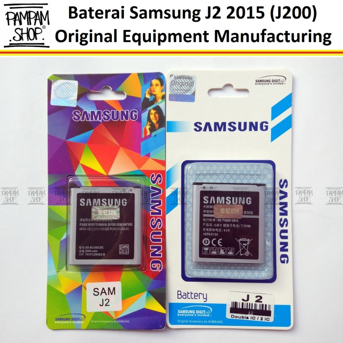 harga Baterai handphone samsung galaxy j2 j200 original   battery hp sein Tokopedia.com