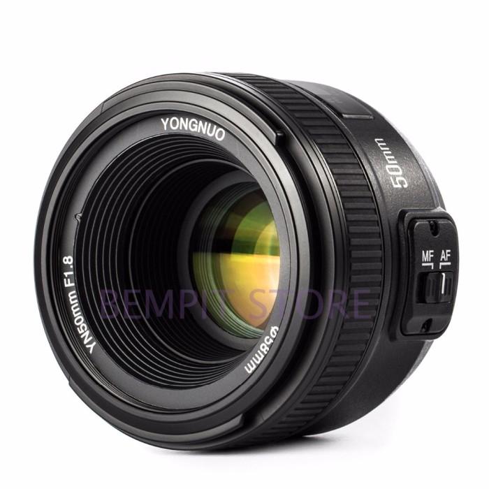 harga Lensa fix yongnuo yn 50mm f1.8 for nikon Tokopedia.com
