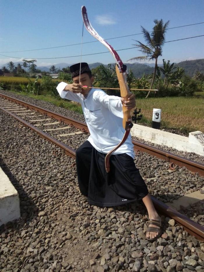 Foto Produk Busur Panah Anak - Recurve Bow Kids Street Fighter dari Sukabumi Archery