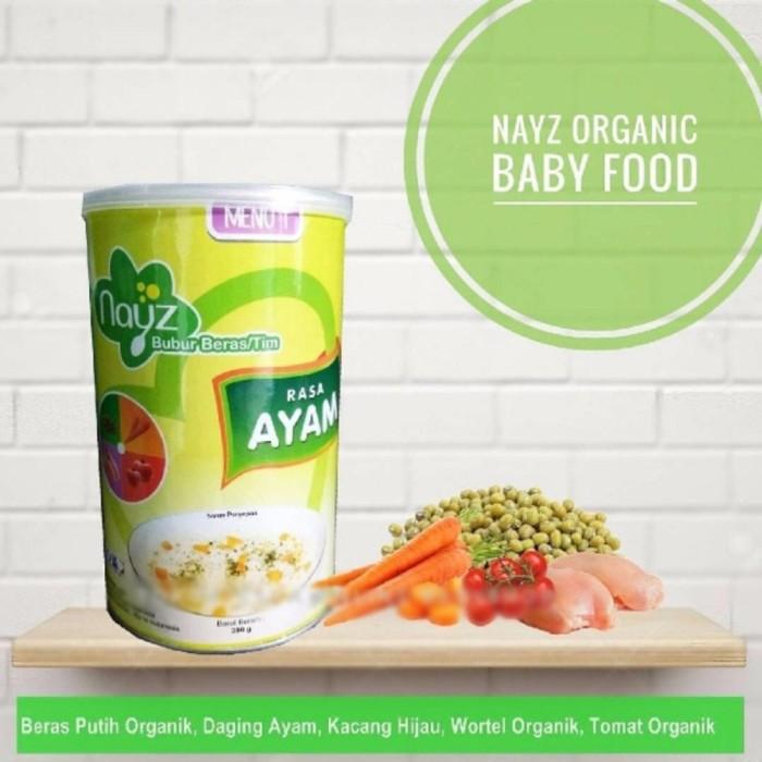 harga Nayz menu 1 rasa ayam bubur bayi organik mp asi murah pertumbuhan anak Tokopedia.com