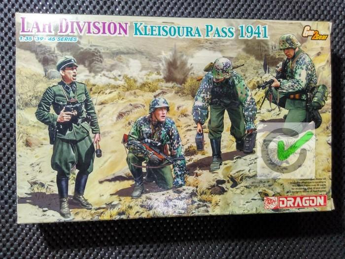 Dragon Model kit 1//35 LAH Division Kleisoura Pass 1941