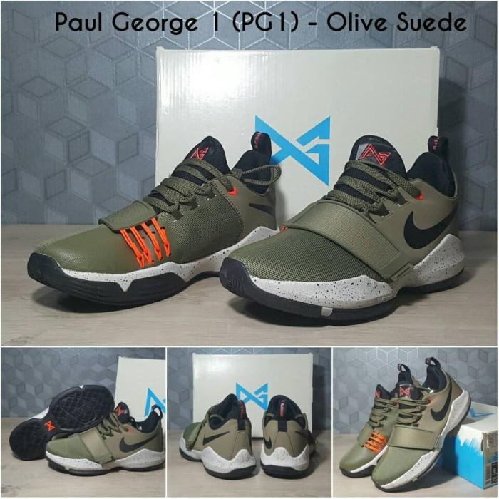 34b440ec53 Jual Sepatu Basket Nike PG 1 Olive Suede - FaithStore_jakarta ...