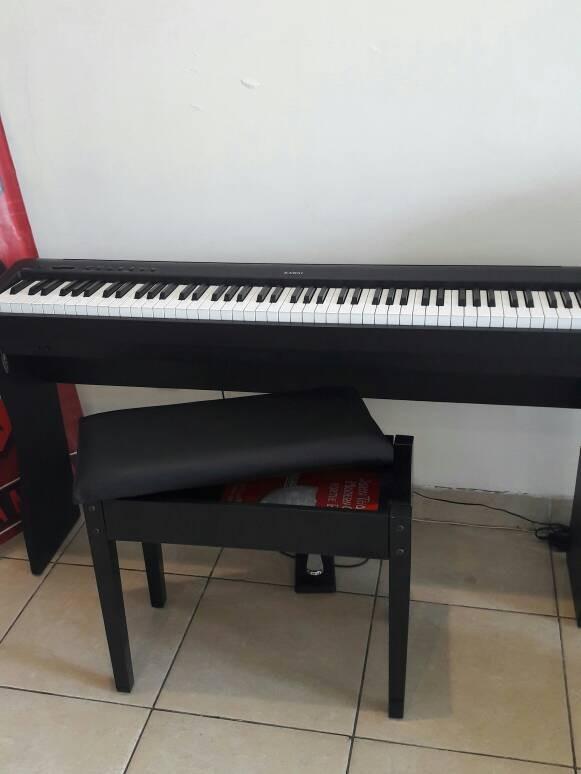harga Piano digital kawai es100 paket stand kayu dan kursi model laci buku Tokopedia.com
