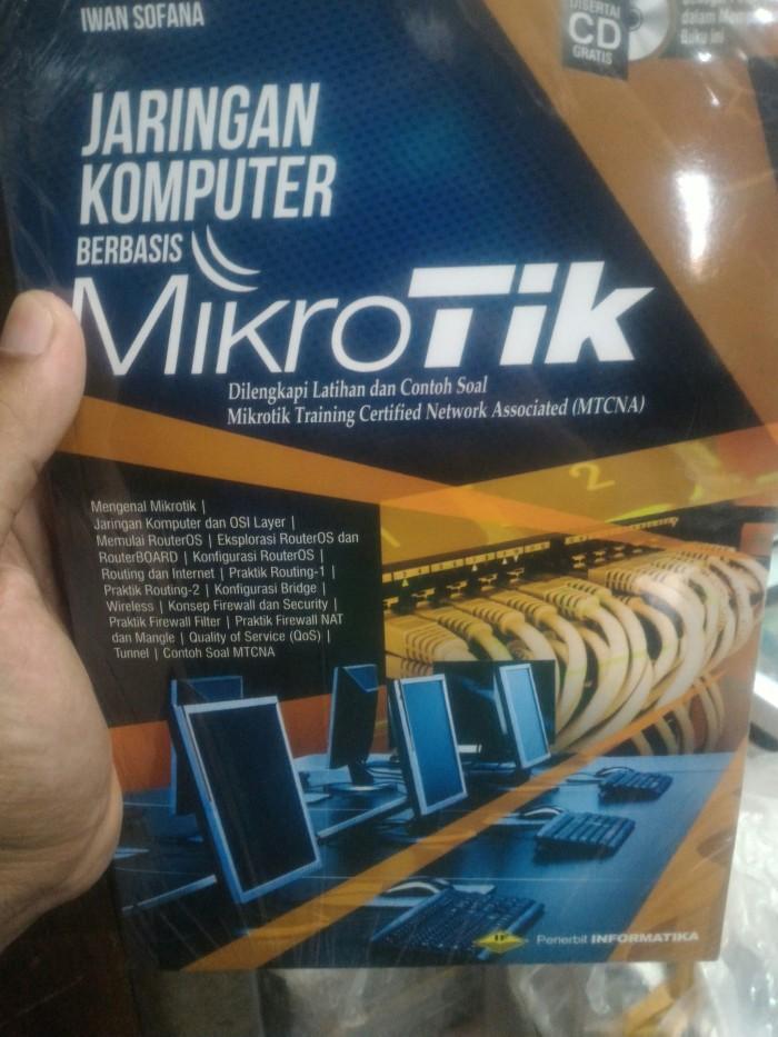 harga Buku jaringan komputer berbasis mikrotik + cd Tokopedia.com