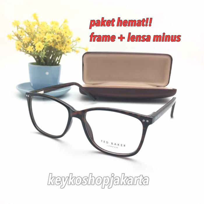 Free lensa minus - frame kacamata pria wanita tedbaker quastro c7587e8f83