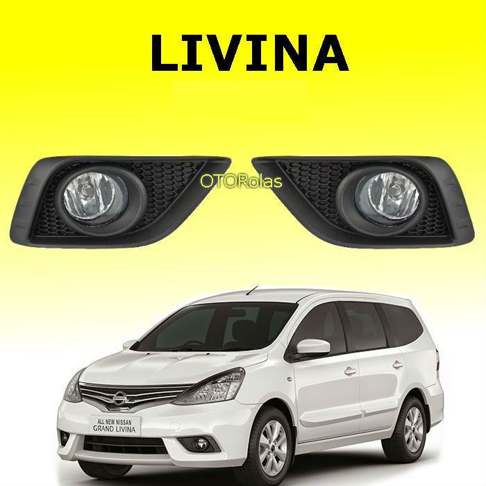 harga Foglamp all new grand livina 2013 2014 2015 2016 fog lamp lampu livina Tokopedia.com