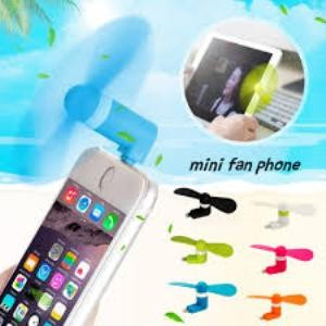 Foto Produk Kipas Angin Mini USB Fan 2 IN 1 For HP Android Smartphone & Powerbank dari serba unik 10