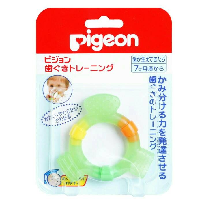 ORIGINAL JAPAN Pigeon Baby Teether Step 2 for 7m+ Mainan Gigitan Bayi