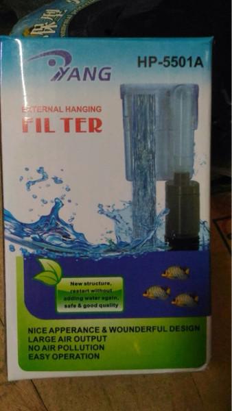 Aquarium aquascape filter gantung yang hp 5501 a hang on
