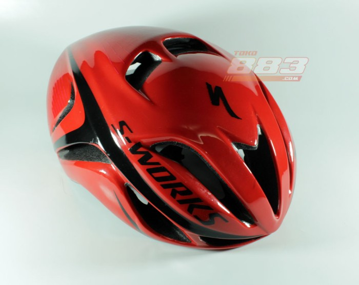 harga Helm Sepeda Specialized Evade All Red Glossy Tokopedia.com
