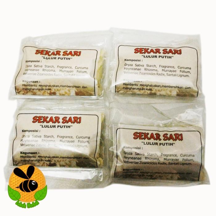 Foto Produk LULUR PUTIH SEKAR SARI - Membuat Kulit Halus, Lembut & Harum dari Lebah Herbal