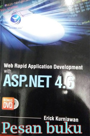 harga Buku web rapid apllication development with asp.net 4.6+dvd Tokopedia.com