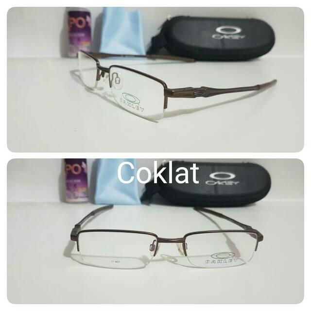 harga Kacamata promo frame sport corkscrew coklat Tokopedia.com