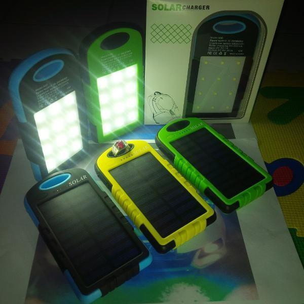harga Power Bank Solar Cell - Powerbank Plus Lampu Led - Pb Solarcell Rp47.5 Tokopedia.com
