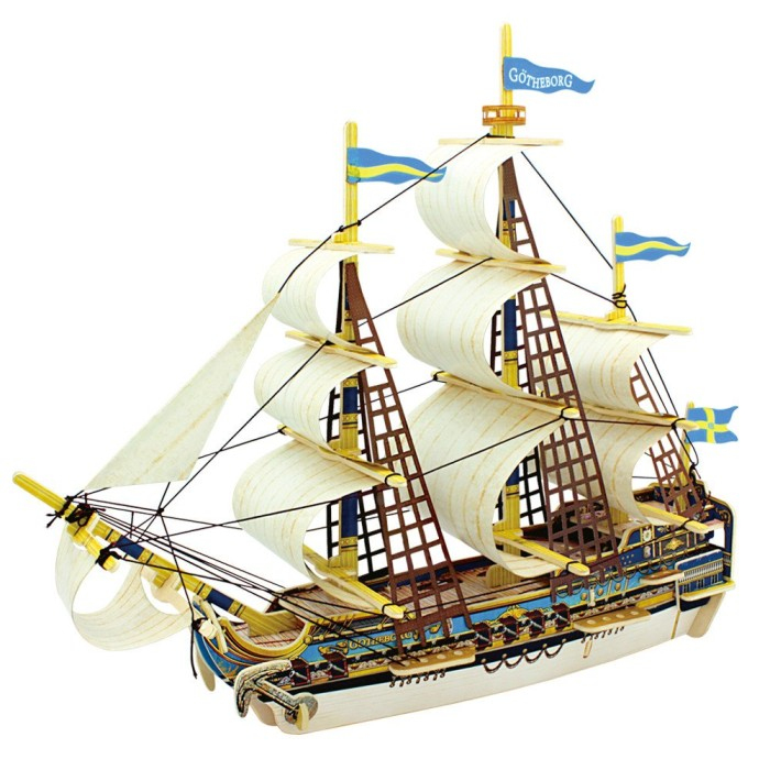 harga Miniatur kapal gothenburg robotime 3d wooden puzzle puzzle kayu 3d Tokopedia.com