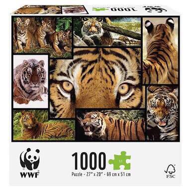 harga Jigsaw puzzle tiger 1000 pcs (sni) Tokopedia.com