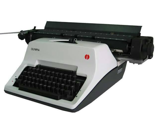 harga Olympia sg 3 (18  inch) size a3- mesin tik/ketik manual/typewriter Tokopedia.com