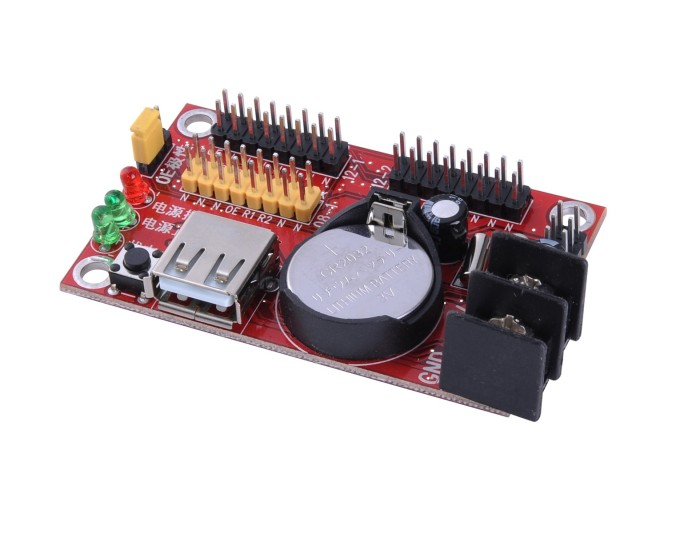 harga Xu2 usb led controller card running text double color led controller Tokopedia.com