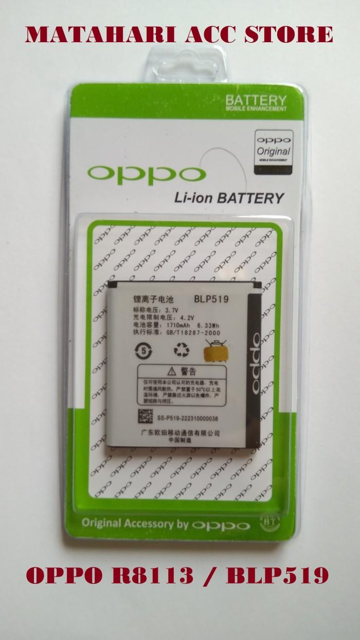 harga Battery batre baterai oppo r8113 - blp519 original Tokopedia.com