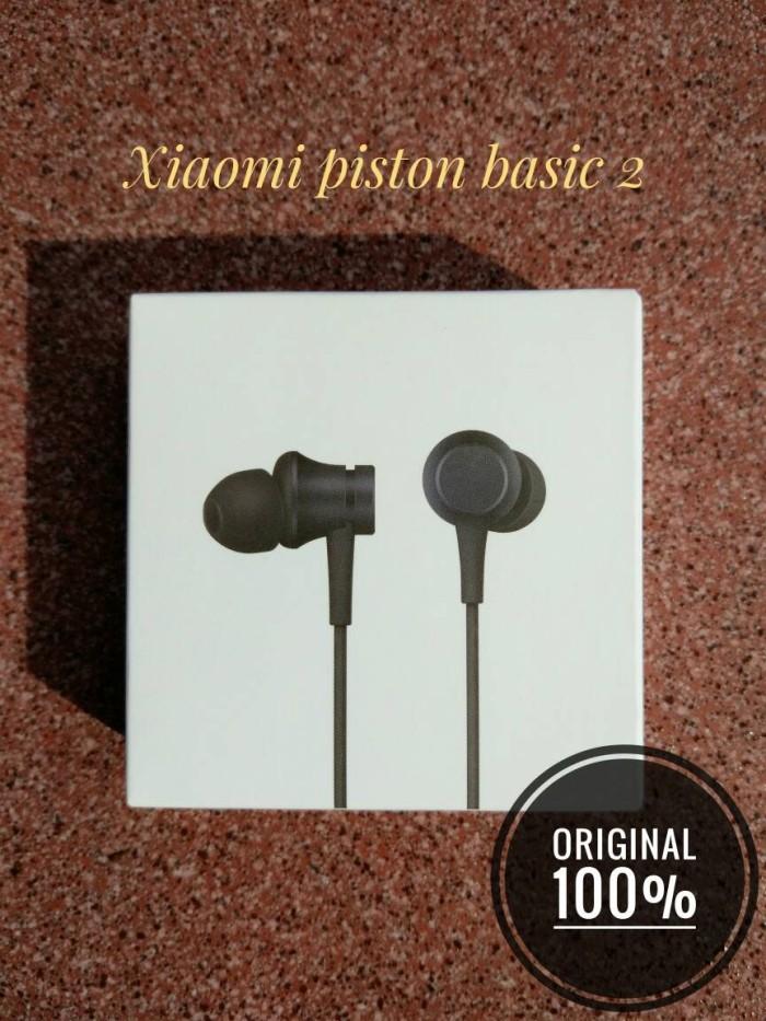 Headset Xiaomi Mi Piston Earphone Basic 2 Edition Original 100%