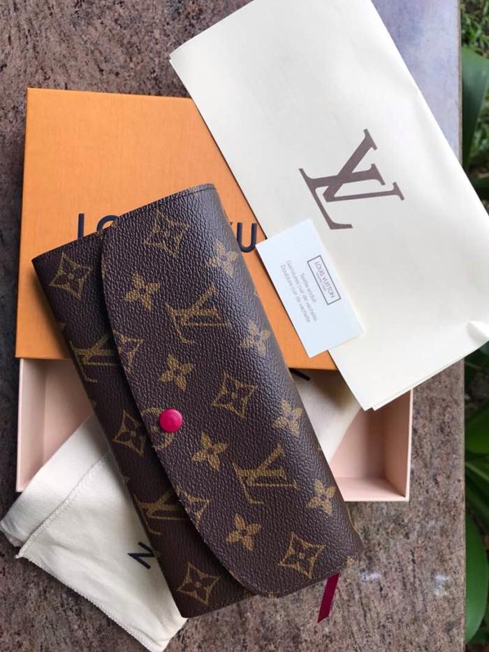 6eefc3277 Jual Dompet LV Louis Vuitton Emilie Wallet Monogram Asli / Ori ...