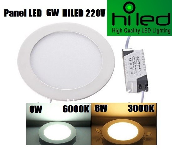 harga Hiled panel led 6w 220v white & warmwhite Tokopedia.com