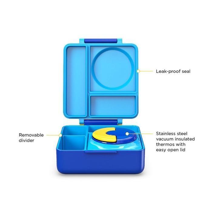 Omiebox bento lunch box - blue sky