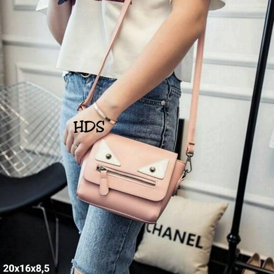 Foto Produk Tas fashion wanita murah slingbag fendi grosir turun harga dari Then4Shop
