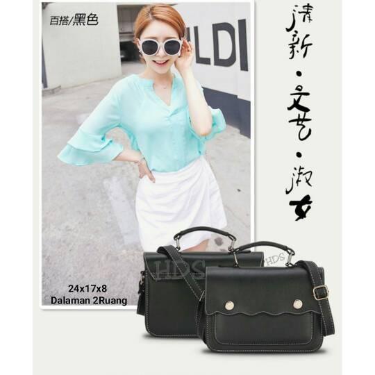 Foto Produk Tas fashion wanita murah slingbag moana grosir turun harga tas cantik dari Then4Shop