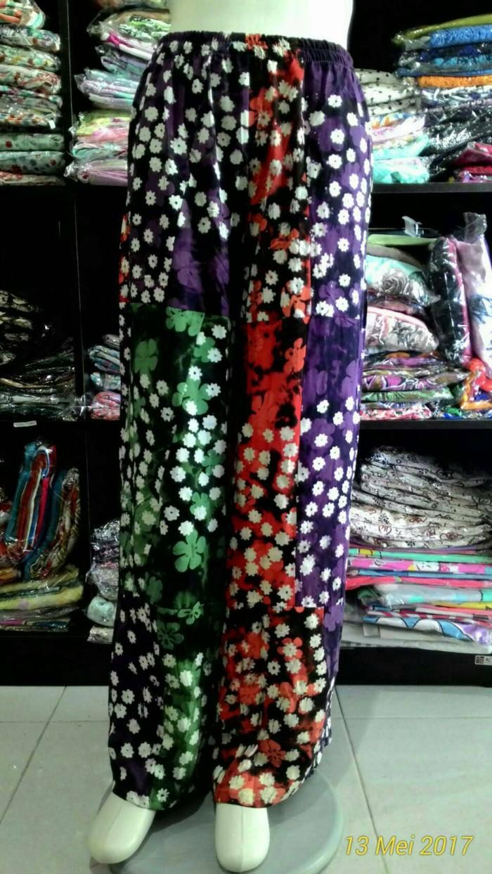 Foto Produk celana panjang kulot batik bahan perca motif fast moving dari Apa-Aja Shop