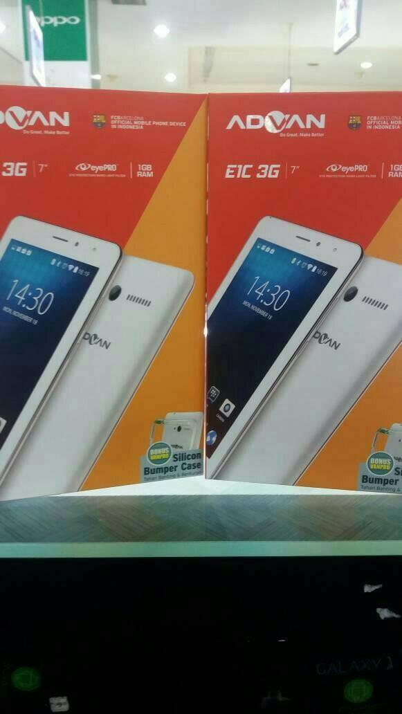 harga Tablet advan e1c 3g ram 1gb Tokopedia.com