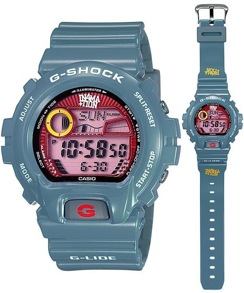 harga G-shock g-lide in4mation tide/moon phase digital red dial glx-6900x-2 Tokopedia.com