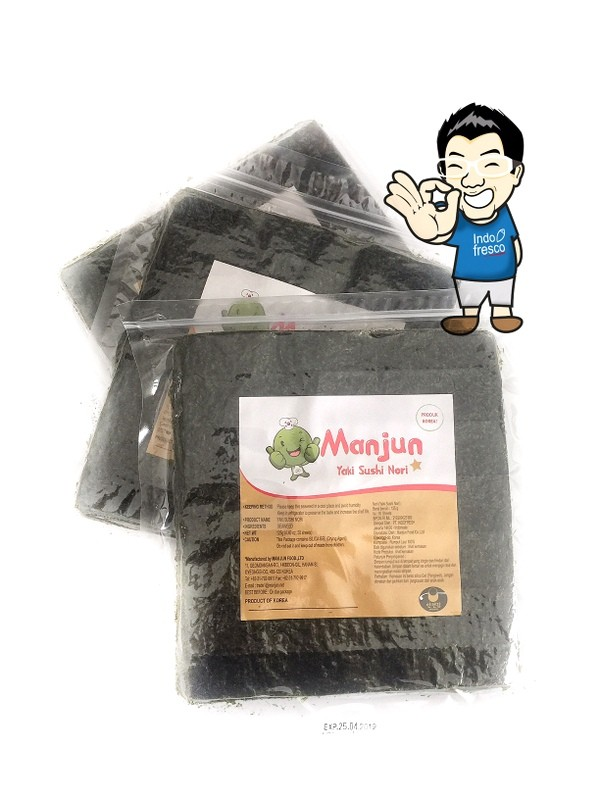 harga Manjun yaki sushi nori/ rumput laut/ seaweed Tokopedia.com