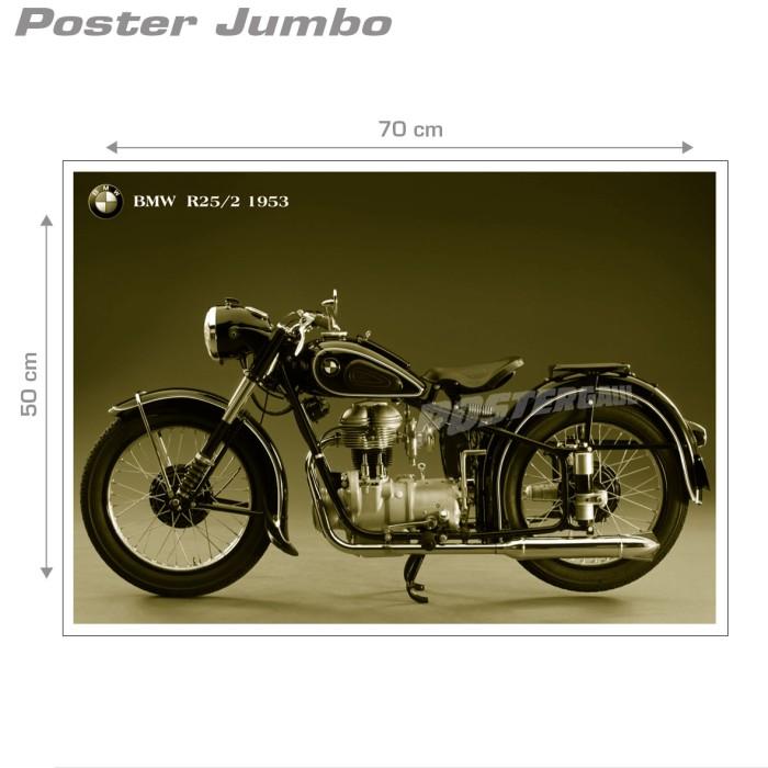 harga Poster motor vintage #01: bmw r25 - jumbo size 50 x 70 cm Tokopedia.com