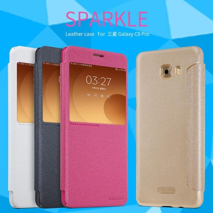 Flip Case Nillkin SAMSUNG C9 Pro Sparkle Series