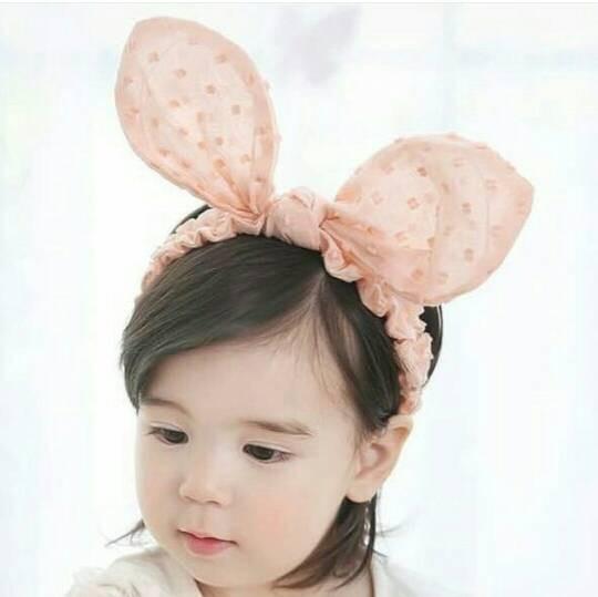 harga Bunny dot dot headband